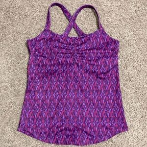 MARMOT CAMILLE TANK WITH WITH IKAT PRINT